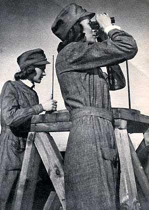 Civil Guards Lotta. Lotta Svärd, Finnish women's voluntary defense organisation that was later banned by the Soviet Union.