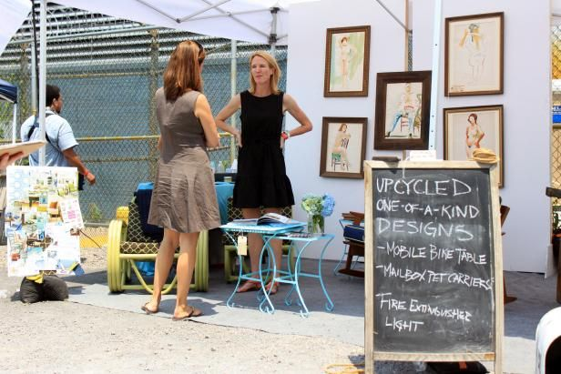 <i>Flea Market Flip</i> host Lara Spencer shares her tips for transforming old, everyday objects into beautiful, functional home decor.