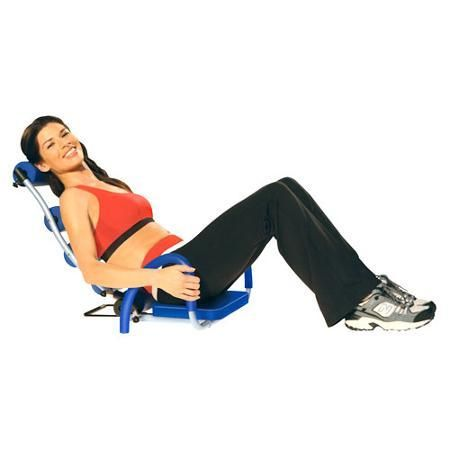 Abdominal Trainer Sport Exersize Fitness As Seen On TV Ab Rocket Blue - Abdominal Exercisers