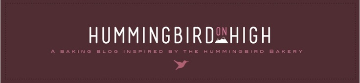 Blog about The Hummingbird Bakery...lots of recipes and photographs