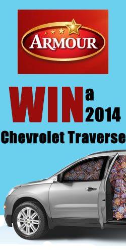 Win a 2014 Chevrolet Traverse