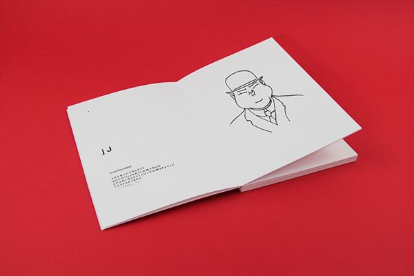 50 Typefaces is a publication inspired by 50 font family. The fonts come alive in illustration drawn by the Italian artist Alessio Fioriniello. Fonts as imaginary characters. - Stefano Rocca http://www.leskgraphic.com/ - #Favini #RismaLuce White http://www.favini.com/products-converting/en/prod_list.php?cid=2