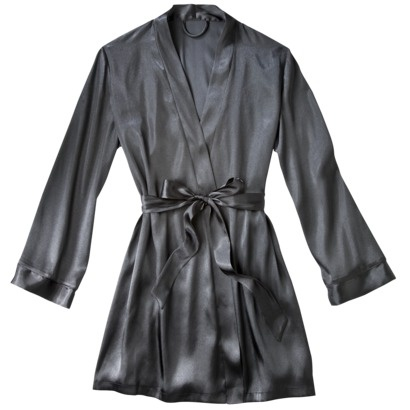 I would like a short robe, silky or something soft, but not bulky. Or maybe a summer one and a fuzzy winter one.