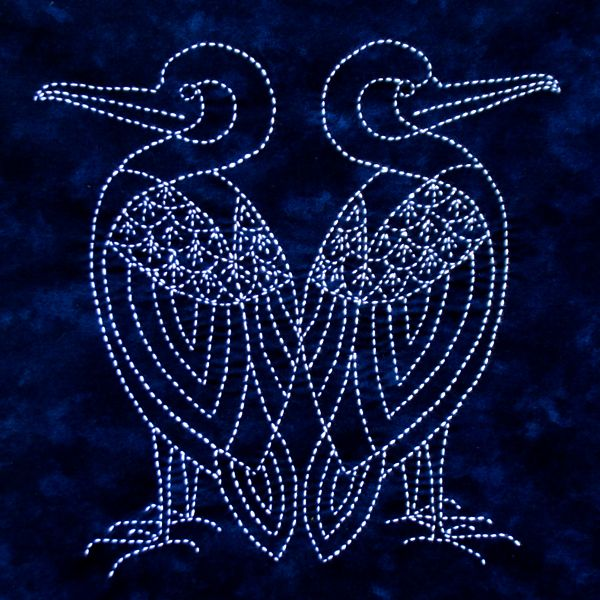 Albatross Sashiko Kit from Sylvia Pippen Designs