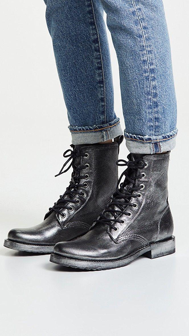 8ec1e2c7dafc Veronica Combat Boots in 2019