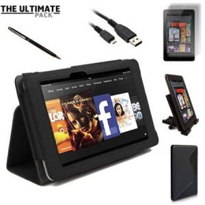The Ultimate Kindle Fire HD Accessory Pack at MobileFun