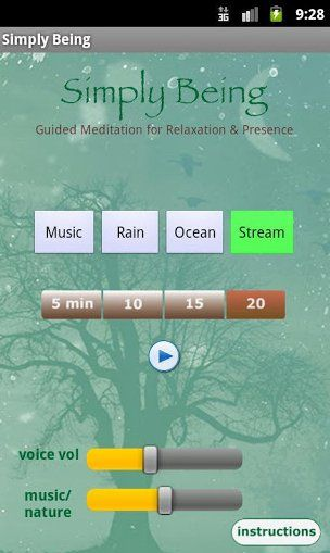 Meditation Apps For Inner Peace (On The Go)  Use this app all the time.