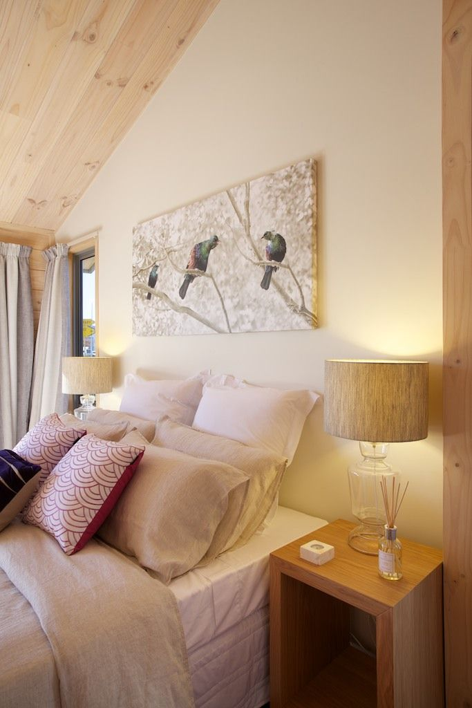 Romantic retreat – master bedroom in new Lockwood show home in Christchurch