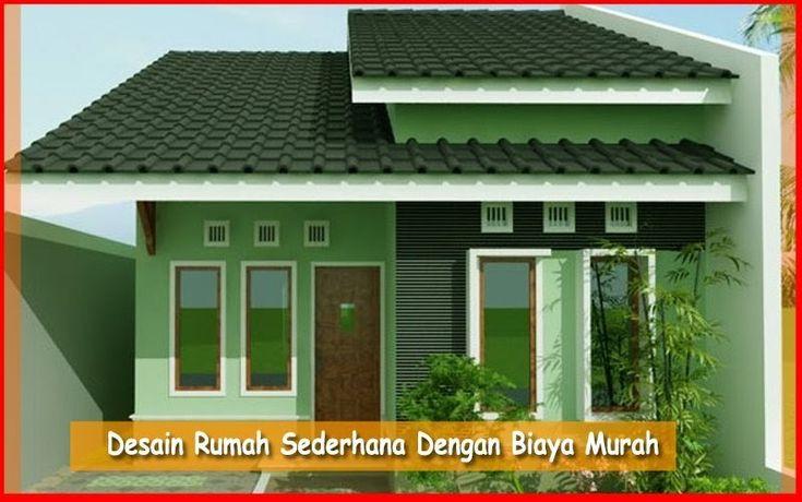 Kumpulan Desain Rumah Minimalis Biaya Murah Rumah Agus Desain Rumah Sederhana Dengan Biaya Murah Ukuran 5 Desain Rumah Rumah Minimalis Desain Rumah Minimalis