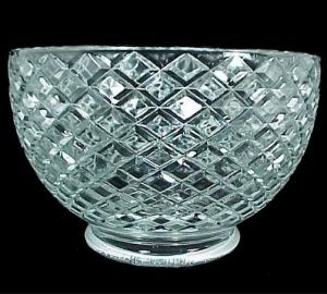 Light Shade Diamond Clear Glass 4 In Gas Lamp Chandelier Wall Sconce C