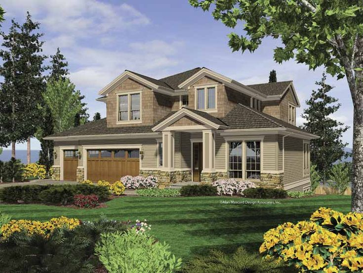 craftsman style daylight basement house plans - house interior
