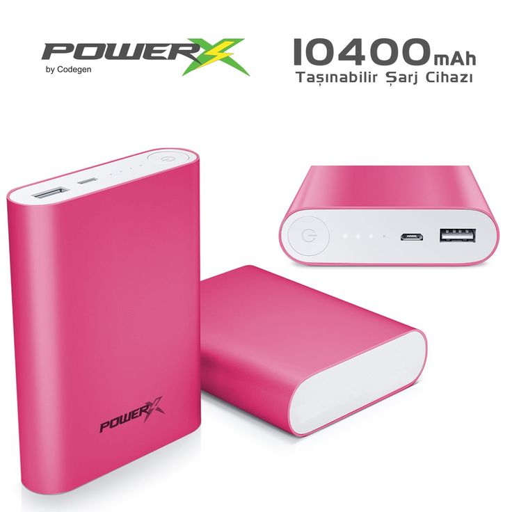 CODEGEN A10-P Powerx 10400 mAh Pembe Powerbank :: DEVesnaf