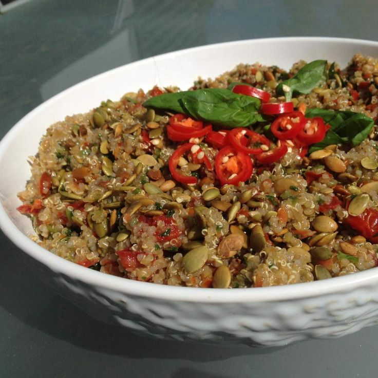 Recipe Spicy Crunchy Quinoa Salad by arwen.thermomix - Recipe of category Side dishes