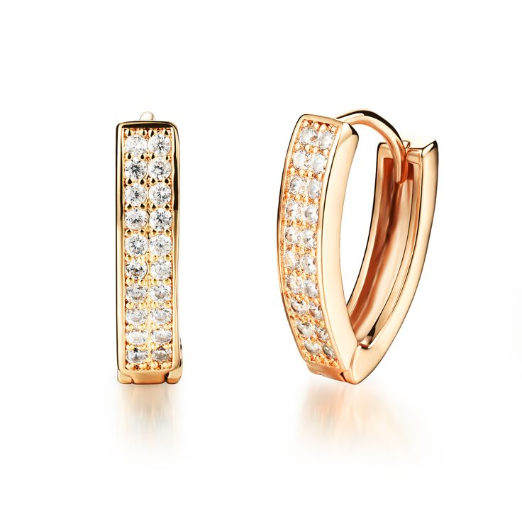 Find More Hoop Earrings Information about Woman's Cubic Zirconia Synthetic Crystal Hoop Earrings Fashion Gold Plated Women Romantic Wedding Party Jewelry Gift,High Quality fashion hoop earrings,China hoop earrings Suppliers, Cheap crystal hoop earrings from Yuan Yi jewelry Store on Aliexpress.com