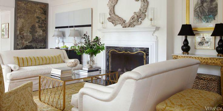 Coffee table - Glamorous Richmond Home - Suellen Gregory Design