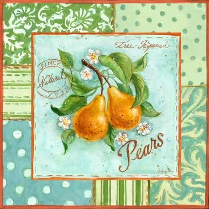 Cottage Fruit Pears (Geoff Allen)