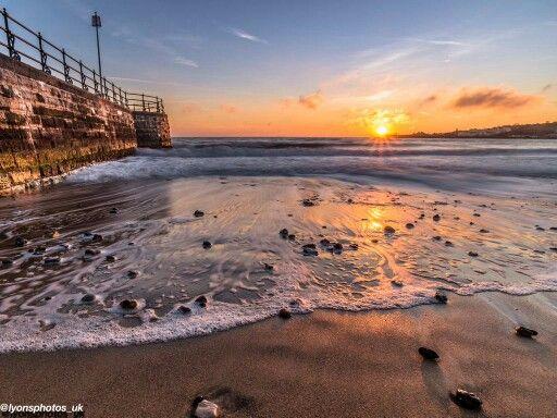 Swanage sunset, Dorset