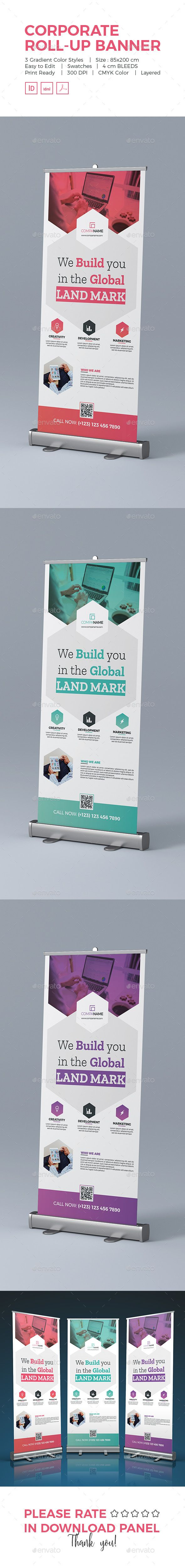 Corporate Roll-Up Banner - Signage Print Templates    #Signage  #SignageTemplates #Signage-Templates #graphicriver  #Design #buisness #printtemplates #color #print-templates #Corporate-Roll-Up-Banner  #Corporate #Roll-Up #Banner #CorporateRoll-UpBanner