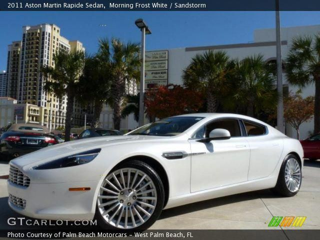 2011 Aston Martin Rapide Sedan In Morning Frost White Click To See Large Photo Astonmartinrapideinterior Aston Martin Rapide Aston Martin Aston
