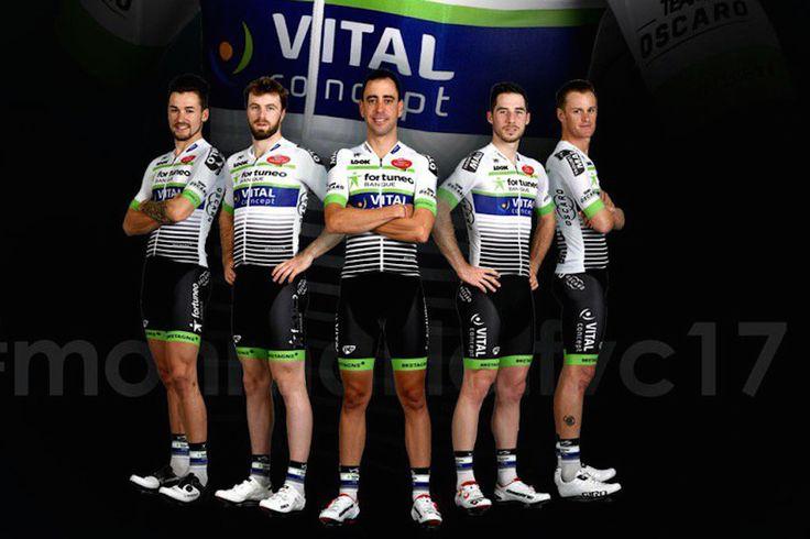 Les couleurs du peloton 2017 (6) - Au tour des équipes Fortuneo-Vital Concept, Sunweb, UAE Abu Dhabi, Unitedhealthcare et WB Veranclassic Aqua Protect de présenter leur maillot.  - (Vélo 101)