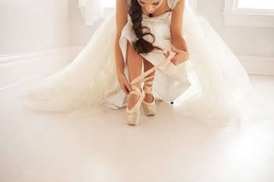 A new idea for future wedding shoes!