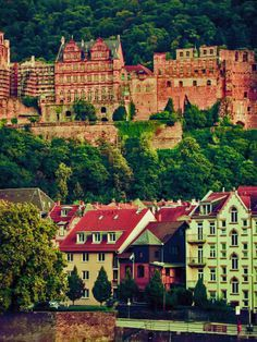 Heidelberg, Germany Heidelberg is one of the few German cities that wasn't destroyed in World War II; plenty of old world charm fills the narrow cobble stone streets of its Old Town, which was the center for Germany's romantic period. The ruins of the once grand Heidelberg castle, the oldest university in the country, and the idyllic river valley make Heidelberg one of the most picturesque destinations in Germany.