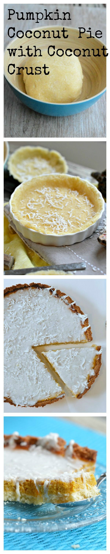 Sugar free & Gluten free Pumpkin Pie with coconut frosting. By www.sweetashoney.co.nz #grainfree #recipes