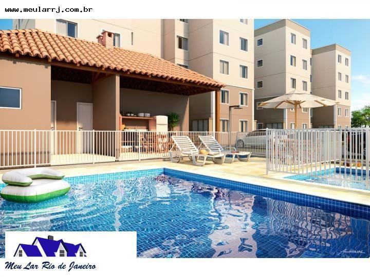 Lançamentos para Venda, Duque de Caxias / RJ, bairro Santa Cruz da Serra, 2 dormitórios, 1 banheiro, 1 garagem