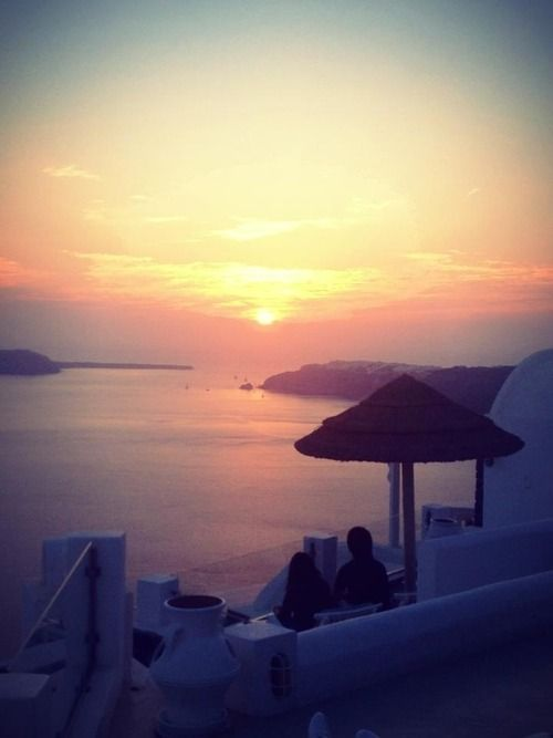 Amazing Sunset Sea santorini, Greece - OMG Amazing Pictures - Most Amazing Pictures on The Internet