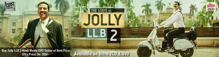 Ultra recently added to its library - Jolly LLB 2. Buy Jolly LLB 2 Hindi Movie DVD Online at Best Price at Ultra. Jolly LLB 2 is produced by Naren Kumar, the film is directed by Subhash Kapoor. Star cast: Akshay Kumar, Huma Qureshi, Saurabh Shukla, Annu Kapoor.