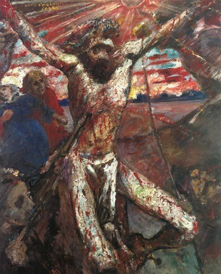 Lovis Corinth - Cristo Rojo