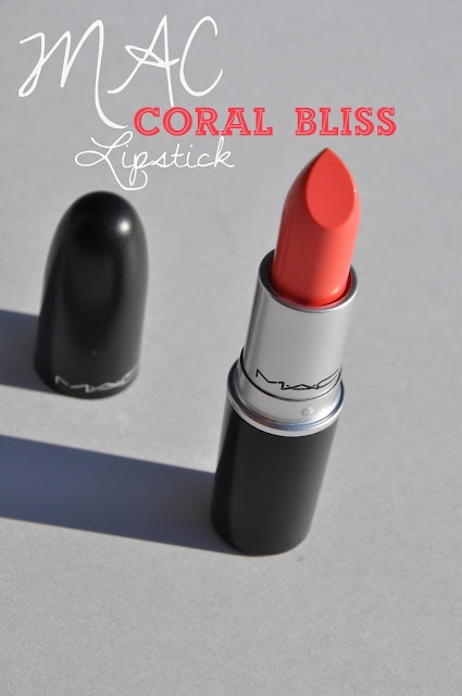 MAC Coral Bliss Lipstick....  I don't like MAC but I want this lipstick