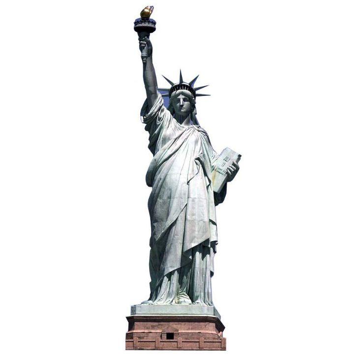 statue de la liberté en carton #statuedelaliberté #NewYork #EtatsUnis