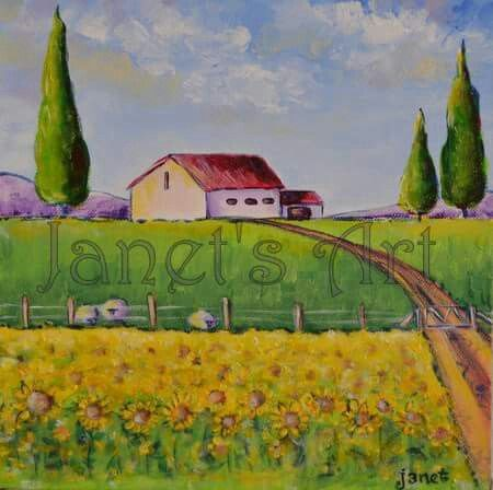Going home - Janet's  Art janet1bester@gmail.com