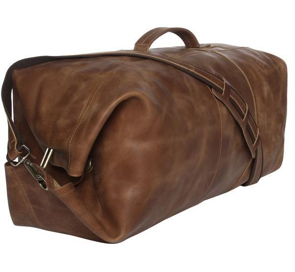 Militær duffel bag / skinnvesker / leather goods / Mach fra www.lyle-d.com