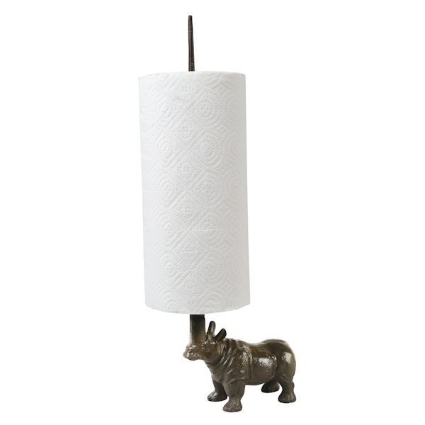 Rhino Toilet Paper And Paper Towel Holder What On Earth Cw2086