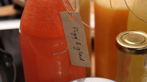 Naturlig saft med citrus och ingefära| SVT recept