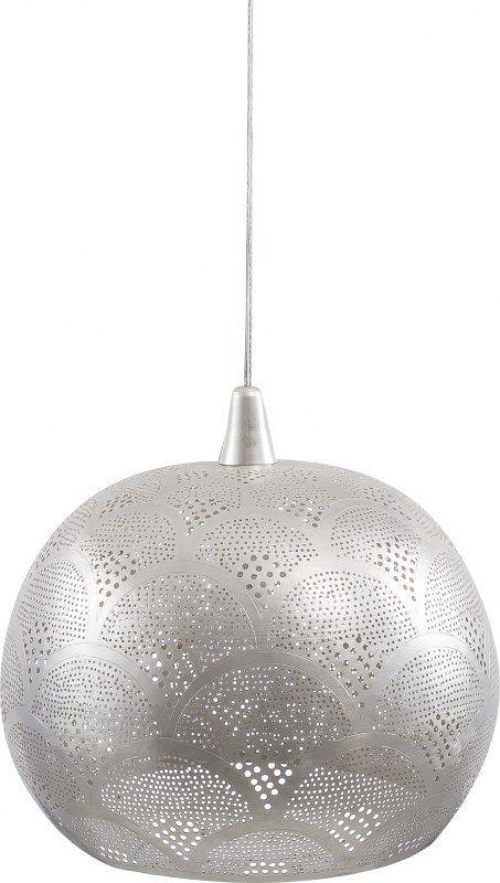 Designové+svítidlo+vyrobené+z+mosazi+vytváří+velmi+elegantní,+intimní,+ale+přesto+moderní+atmosféru+každého+interiéru.+Povrch+svítidla+je+děrovaný,+krásně+tak+prosvítá+světlo+žárovky.Svítidlo+je+dodáváno+se+závěsným+systémem.