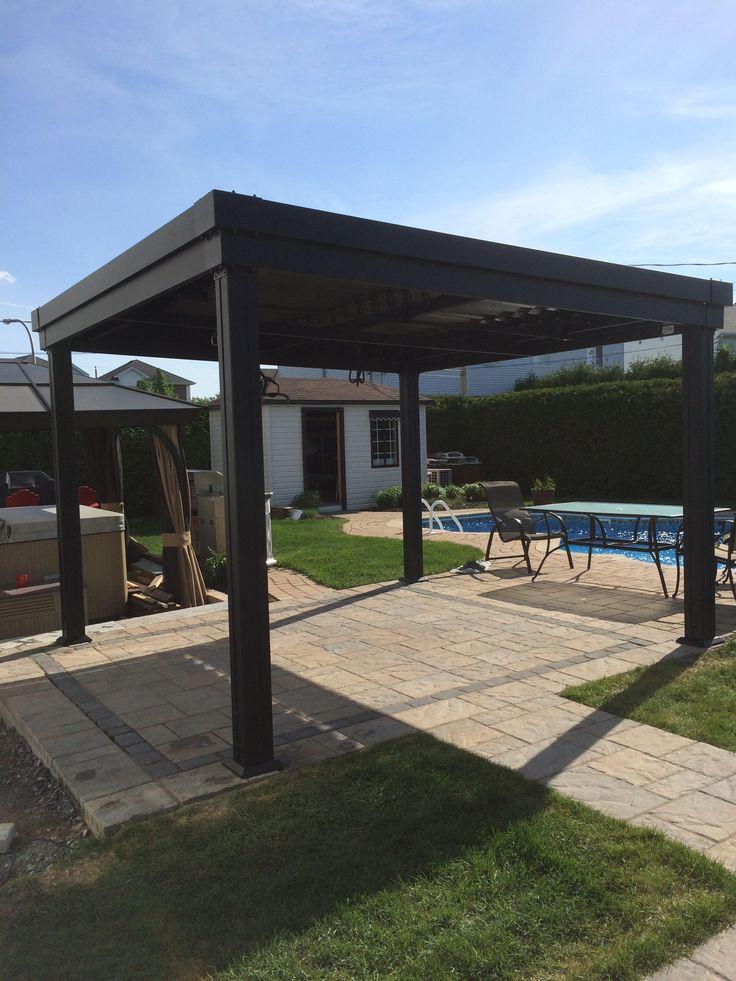 41 best sunlouvre pergolas images on pinterest arbors patio design and pergolas. Black Bedroom Furniture Sets. Home Design Ideas