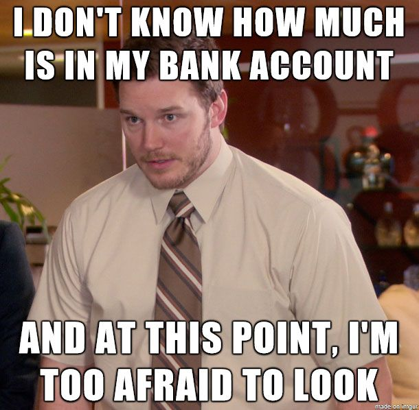 The Epitome of Being Broke