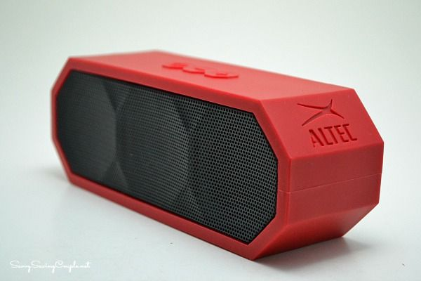 The Jacket – Portable Wireless Blue Tooth Speaker by Altec Lansing #Review