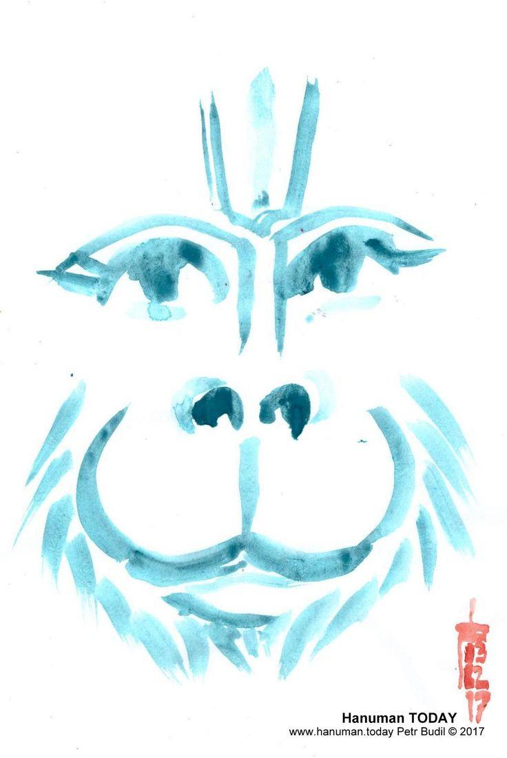 Friday, February 3, 2017 Daily drawings of Hanuman / Hanuman TODAY / Connecting with Hanuman through art / Artwork by Petr Budil [Pritam] www.hanuman.today #bajrangbali #hanuman #artworkoftheday #arteveryday #Chalisa #hanumanchalisa #bhakti #ramayana #art #yoga #jaihanuman #rama #sita #janaki #lakshman #DailyDevotional #anjaneya #spiritual @www.hanuman.today