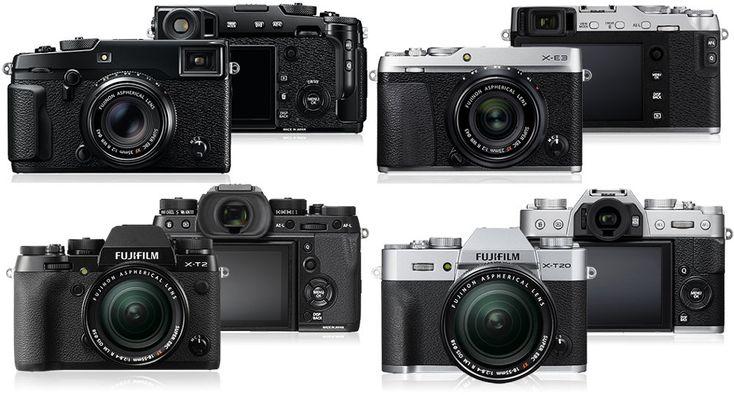 Aparate foto mirrorless Fujifilm