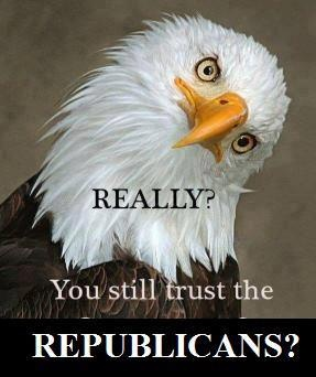 You still trust Republicans?: Quotes, The Eagles, Truths, American Eagles,  American Eagle, Government, Bald Eagles, United States, Animal