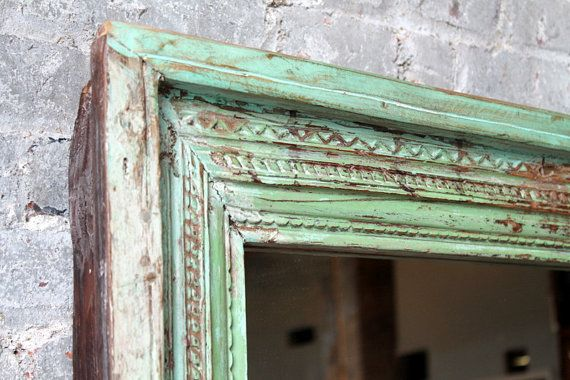 SALE Full Length Floor Mirror Antique by hammerandhandimports