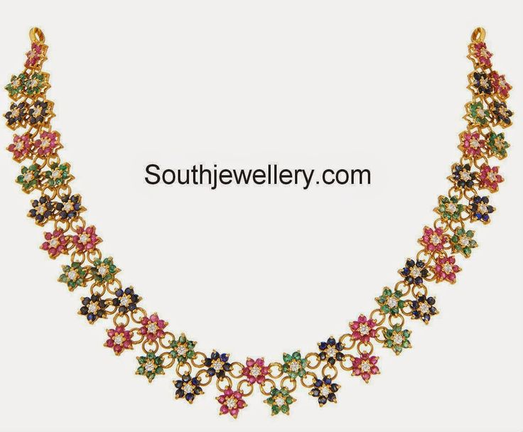 Fancy Floral Necklace