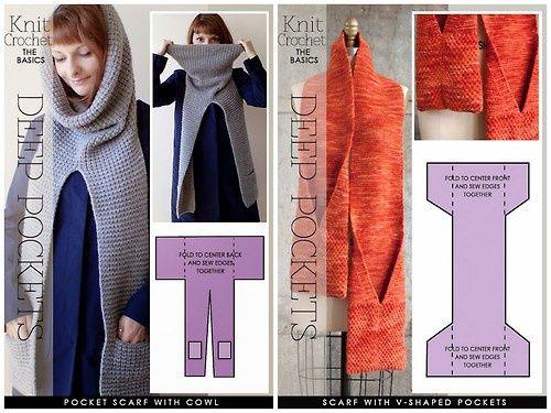 Два необычных шарфа