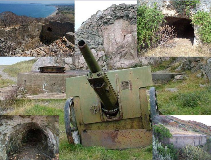Battlefield Archaeology: The abandoned WW2 German gun emplacements of Kolymbari, Crete