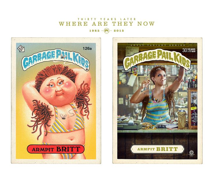 Garbage Pail Kids - Where are they now? on Behance