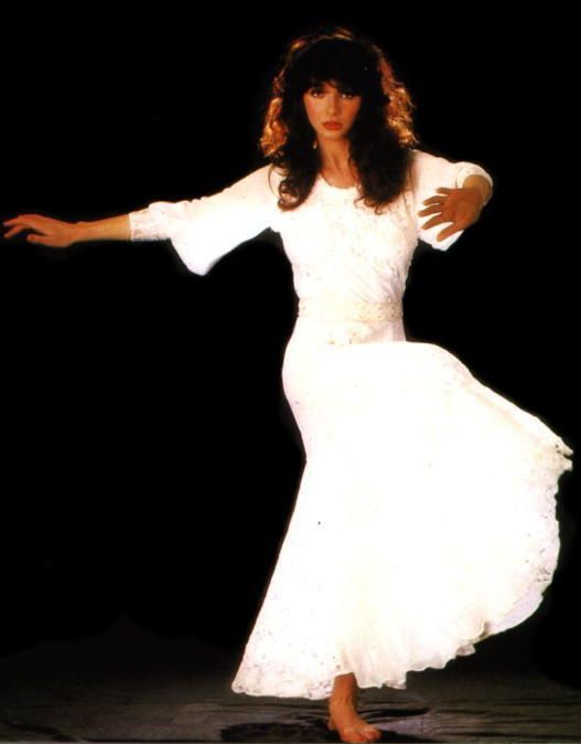 She's effin' crazy, but I love her. Kate Bush
